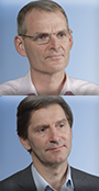 Prof. Adrian Boswood tiny thumbnail image and Prof. Jens Häggström tiny thumbnail image